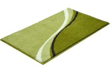 GRUND LUCA Badteppich grün 47x50 cm Deckelbezug