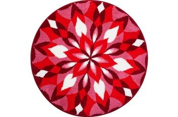 GRUND Mandala FREUDENFLÜGEL rot 80 cm rund