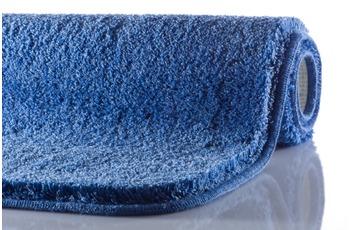 GRUND MELANGE Badteppich Jeansblau 50 x 110 cm
