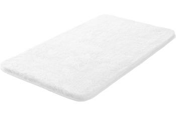 GRUND MELANGE Badteppich Weiß 47 x 50 cm Deckelbezug