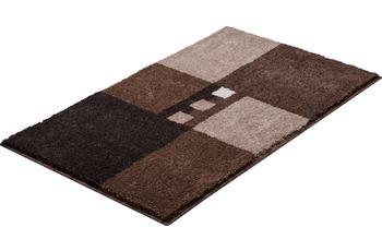 GRUND MERKUR Badteppich Braun Set 3tlg. ohne Ausschnitt