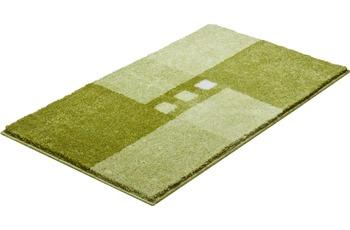 GRUND MERKUR Badteppich Grün 50 x 60 cm WC-Vorleger mit Ausschnitt