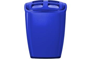 GRUND Zahnputzbecher NEON blau 7x6,5x10 cm