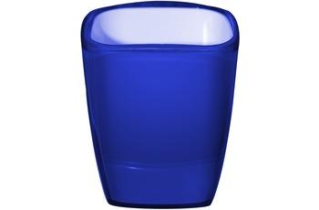 GRUND Zahnputzbecher NEON blau 8x7x10,2 cm