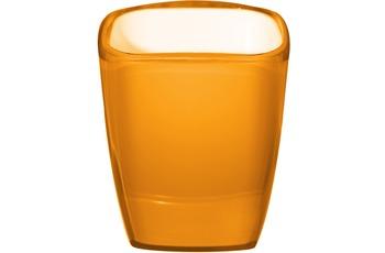 GRUND Zahnputzbecher NEON orange 8x7x10,2 cm