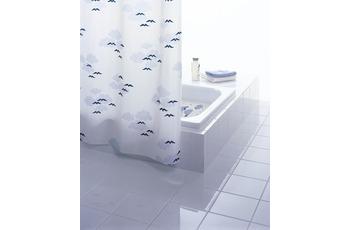 GRUND Duschvorhang NUBE weiss-blau