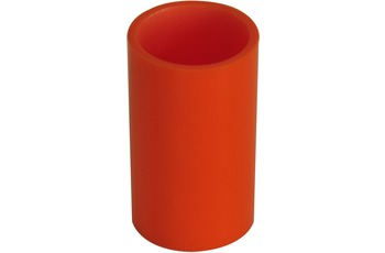 GRUND Zahnputzbecher PICCOLO, orange 7,1x7,1x12,3 cm