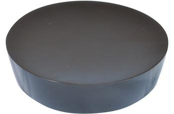 GRUND Seifenablage PICCOLO, schwarz 10,4x10,4x2,5 cm
