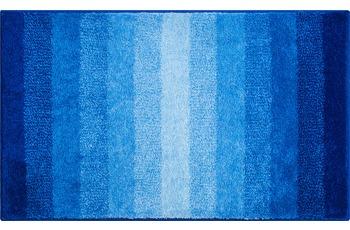 GRUND RIALTO Badteppich blau 80 x 140 cm
