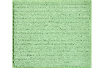 GRUND RIFFLE Badteppich grün
