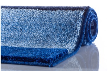 GRUND ROOM Badteppich Blau 47 x 50 cm Deckelbezug