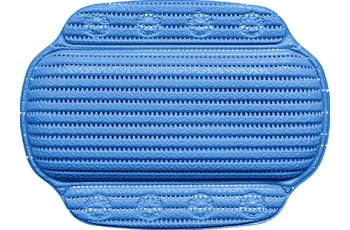 GRUND Wanneneinlage SAMOA blau 24x32 cm