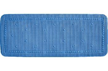 GRUND Wanneneinlage SAMOA blau 36x92 cm