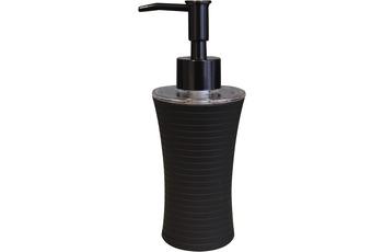 GRUND Seifenspender TOWER schwarz 7x7x18,5 cm