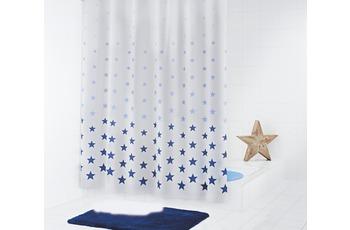 GRUND Duschvorhang STARS blau