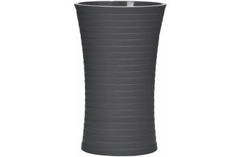 GRUND Zahnputzbecher TOWER, schwarz 7x7x11,8 cm