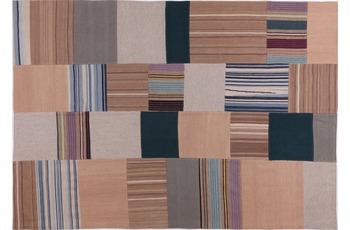 handgewebter Teppich MASH UP 2023 multi gemustert