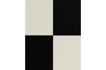 Hometrend FURLANA CV Vinyl Bodenbelag, Fliesenoptik Fliese, schwarz/ weiss