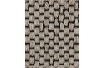Hometrend Teppichboden Flachgewebe beige/ natur 400 cm breit