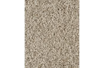 Hometrend SAREMO Teppichboden, Hochflor Uni-Velours, beige