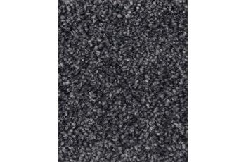 Hometrend Teppichboden Hochflor Velours anthrazit
