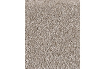 Hometrend PASTELLA Teppichboden, Hochflor Velours, beige/ natur