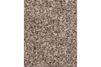 Hometrend PINTURAS Teppichboden, Hochflor Velours, dunkelbeige