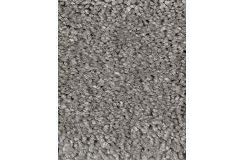 Hometrend CUBANA Teppichboden, Hochflor Velours, grau