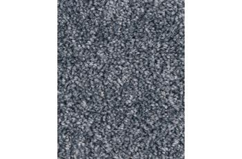 Hometrend PASTELLA Teppichboden, Hochflor Velours, grau