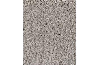 Hometrend CUBANA Teppichboden, Hochflor Velours, grau/ beige
