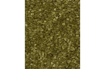 Hometrend PINTURAS Teppichboden, Hochflor Velours, olivgrün