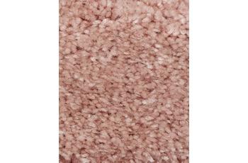Hometrend Teppichboden Hochflor Velours rosenholz