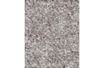Hometrend CAMINO Teppichboden, Hochflor Velours silber