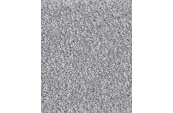 Hometrend Teppichboden Hochflor Velours silber