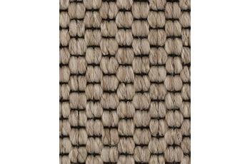 Hometrend SOLERO/ APPLAUSE Teppichboden, Flachgewebe-Schlinge, beige/ Natur