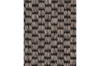 Hometrend SOLERO/ APPLAUSE Teppichboden, Flachgewebe-Schlinge, braun/ Natur