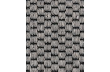 Hometrend SOLERO/ APPLAUSE Teppichboden, Flachgewebe-Schlinge, grau