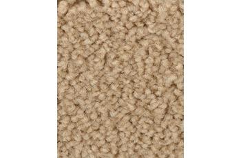 Hometrend Teppichboden Meterware Hochflor Velours Beige/ Braun