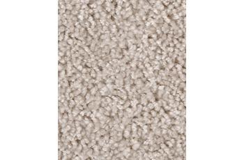 Hometrend Teppichboden Meterware Hochflor Velours Beige/ Sand