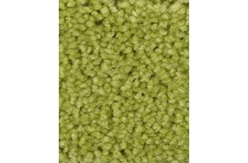 Hometrend PAMIRA/ PRISCILLA Teppichboden, Hochflor Velours, gelbgrün