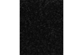 Hometrend PAMIRA/ PRISCILLA Teppichboden, Hochflor Velours, schwarz