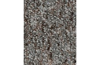 Hometrend Teppichboden Meterware Schlinge bedruckt Grau