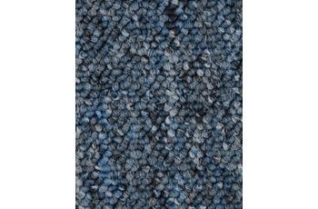Hometrend BARDINO/ ROCKY Teppichboden, Schlinge, blau meliert