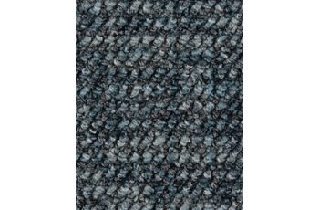 Hometrend ANEMONE/ REVUE Teppichboden, Schlinge gemustert, blaugrau