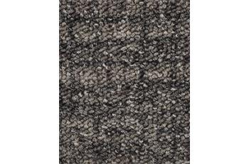Hometrend IKARUS/ ROBERTA Teppichboden, Schlinge gemustert, dunkelgrau
