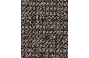 Hometrend ANEMONE/ REVUE Teppichboden, Schlinge gemustert, graubraun