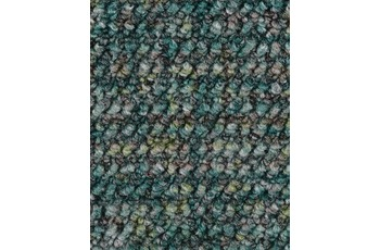 Hometrend ANEMONE/ REVUE Teppichboden, Schlinge gemustert Seegrün