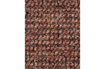 Hometrend ANEMONE/ REVUE Teppichboden, Schlinge gemustert Ziegelrot