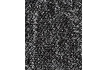 Hometrend BARDINO/ ROCKY Teppichboden, Schlinge, schwarz meliert