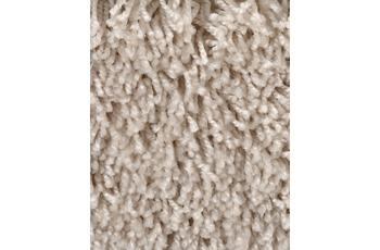 Hometrend CARLITA/ GREASE Teppichboden, Shaggy Hochflor, beige/ Creme